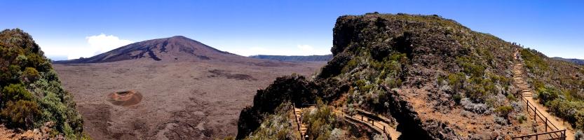 Pas de Bellecombe - Belvédère du volcan