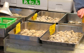 Huîtres décortiquées