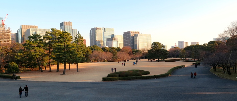 Jardin oriental du Palais Impérial