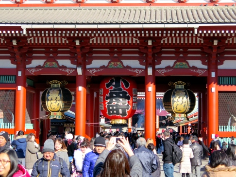 Porte du temple Senso-Ji