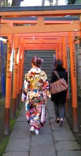 Allée de Torii à Ueno