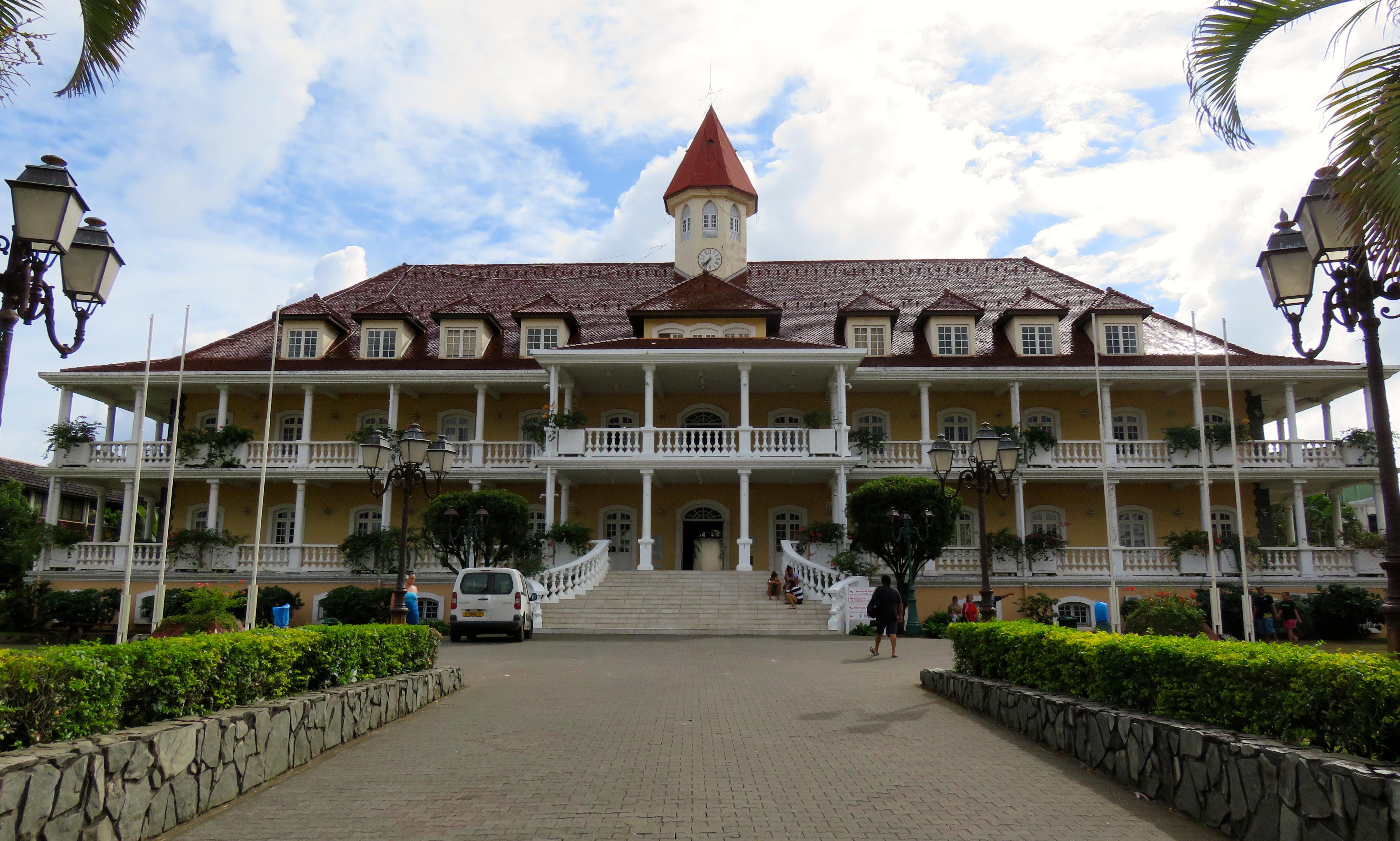 Tahiti capitale de la polyn sie fran aise vasions bordelaises - Office du tourisme tahiti ...