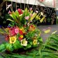 Bouquet gagnant Heiva Raiatea2015