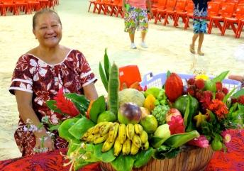 Concours de paniers de fruits