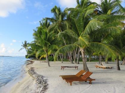 Plage du Vahine Island
