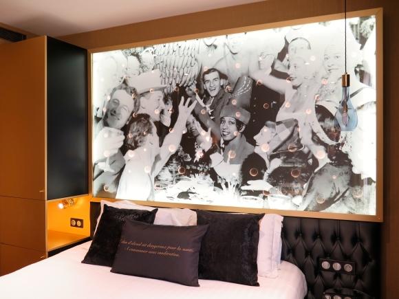 Chambre Privilege Hotel Les Bulles de Paris