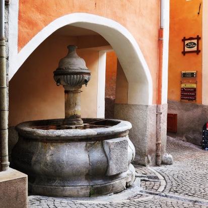 Fontaine des soupirs Briançon