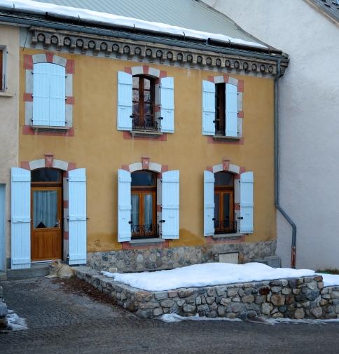 La salle-les-Alpes village