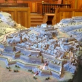 Maquette des fortifications