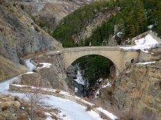 Pont d'Asfeld Hautes-Alpes