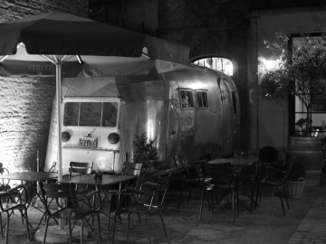Caravane aluminium Vintage Hotel