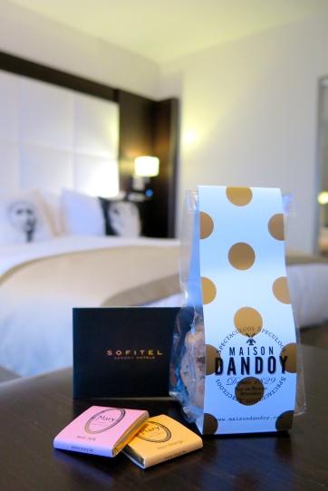 Chocolats belges Sofitel Le Louise