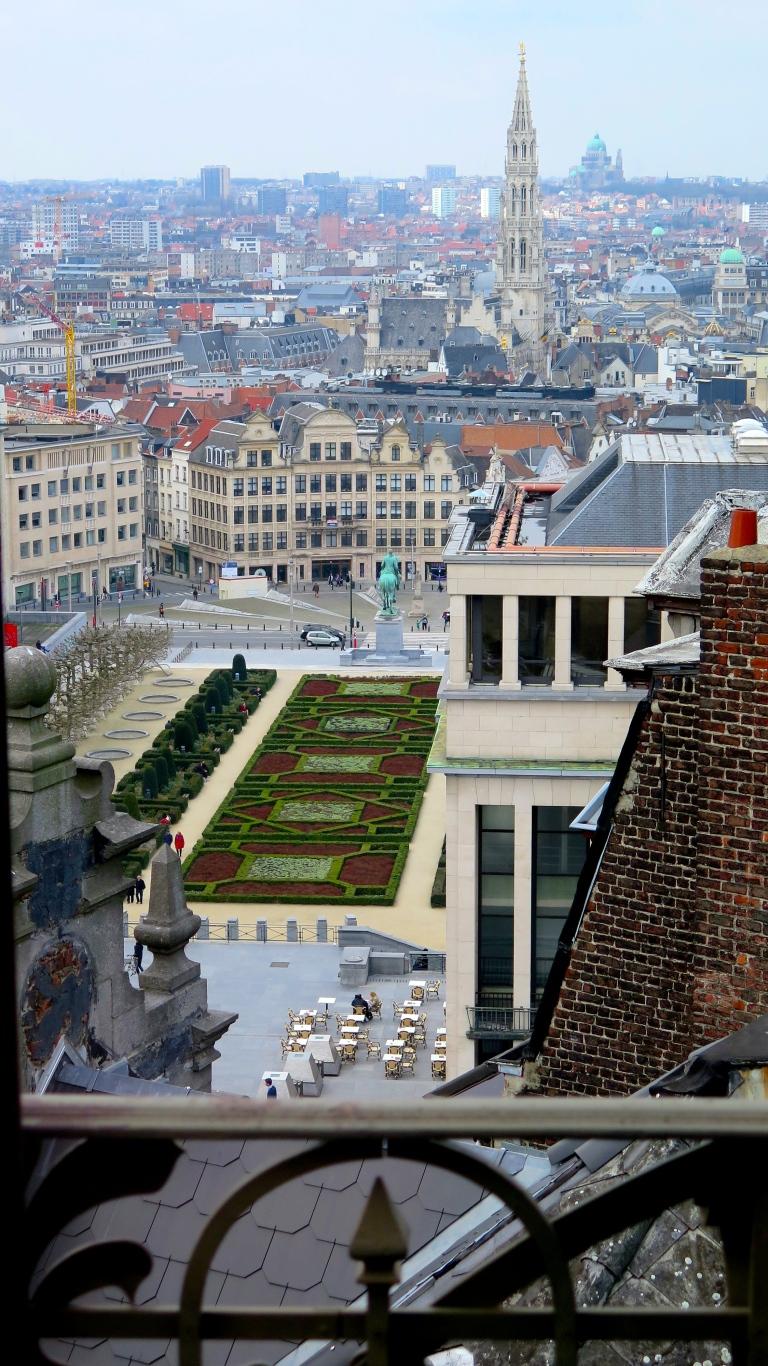 Mont des Arts depuis MIM Bruxelles
