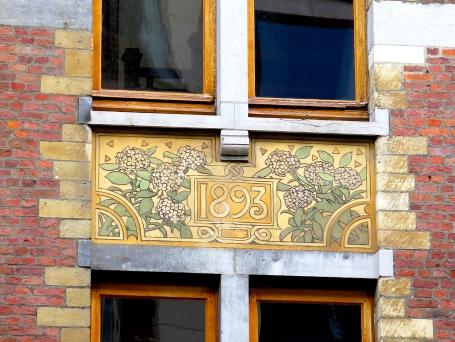 Sgraffite Art Nouveau Bruxelles