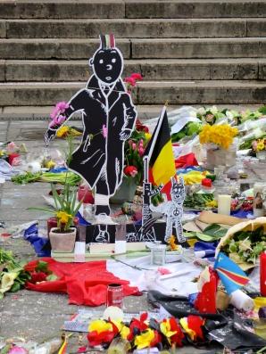 Tintin Place de la Bourse