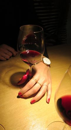 Degusation de vin