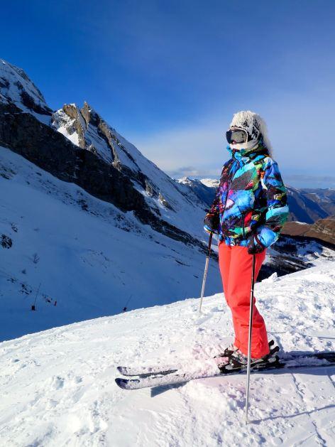 Ski style Gourette