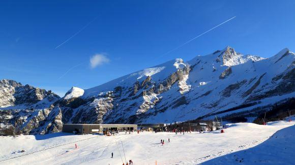 Station Gourette Bearn Pyrenees
