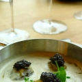 Huitres tiede –caviar