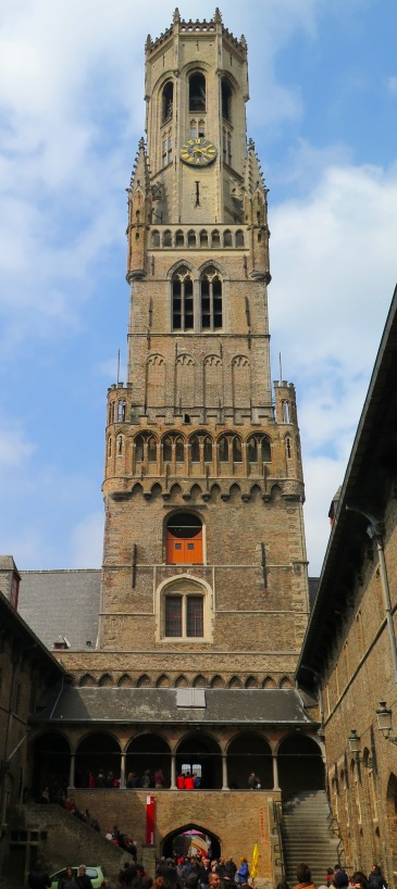 Beffroi Bruges Belgique