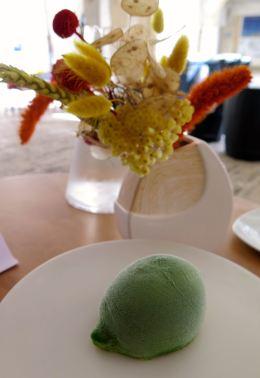Dessert citron restaurant affranchi Agen