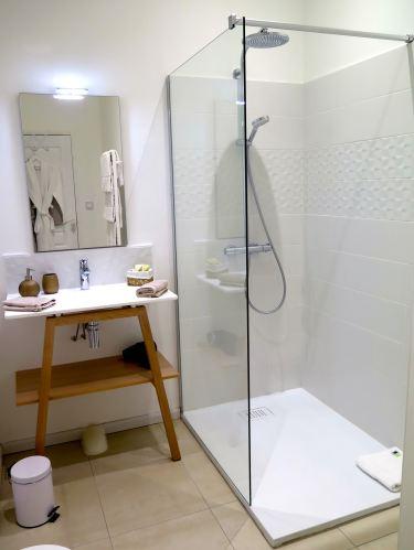 Salle de bain suite Quintessence